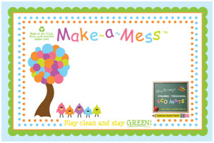 Make a Mess certificate