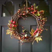 Autumn Wreath made easy