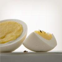 A perfect hard boiled egg