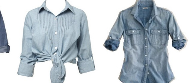 Chambray the color of fall weekly sauce for Cuisine you chambray