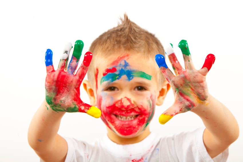Finger Paint Ideas For Adults