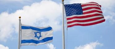 U.S.-Israel flags