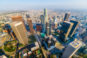 Los Angeles California Aerial