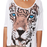 PLAYFUL LEOPARD TEE