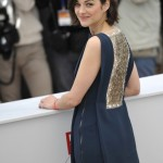 Marion Cotillard in Navy and Gold