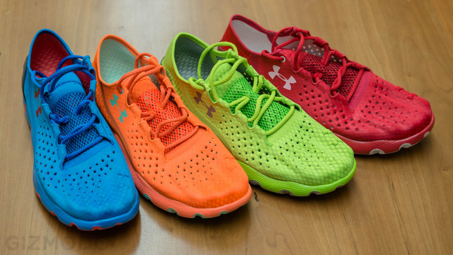 """Pumped Up Kicks: Under Armour Speedform Shoes """"Bra For Your Feet"""""""