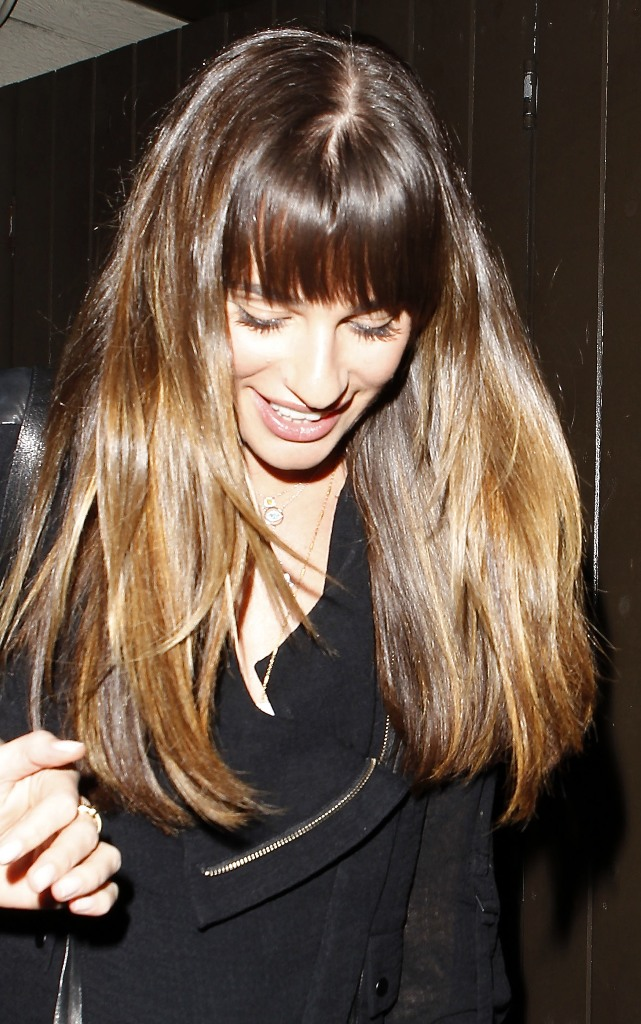 Lea Michele holds a friends hand as she leaves Dominik's restaurant in West HollywoodFeaturing: Lea MicheleWhere: Los Angeles, California, United StatesWhen: 30 Sep 2013Credit: WENN.com