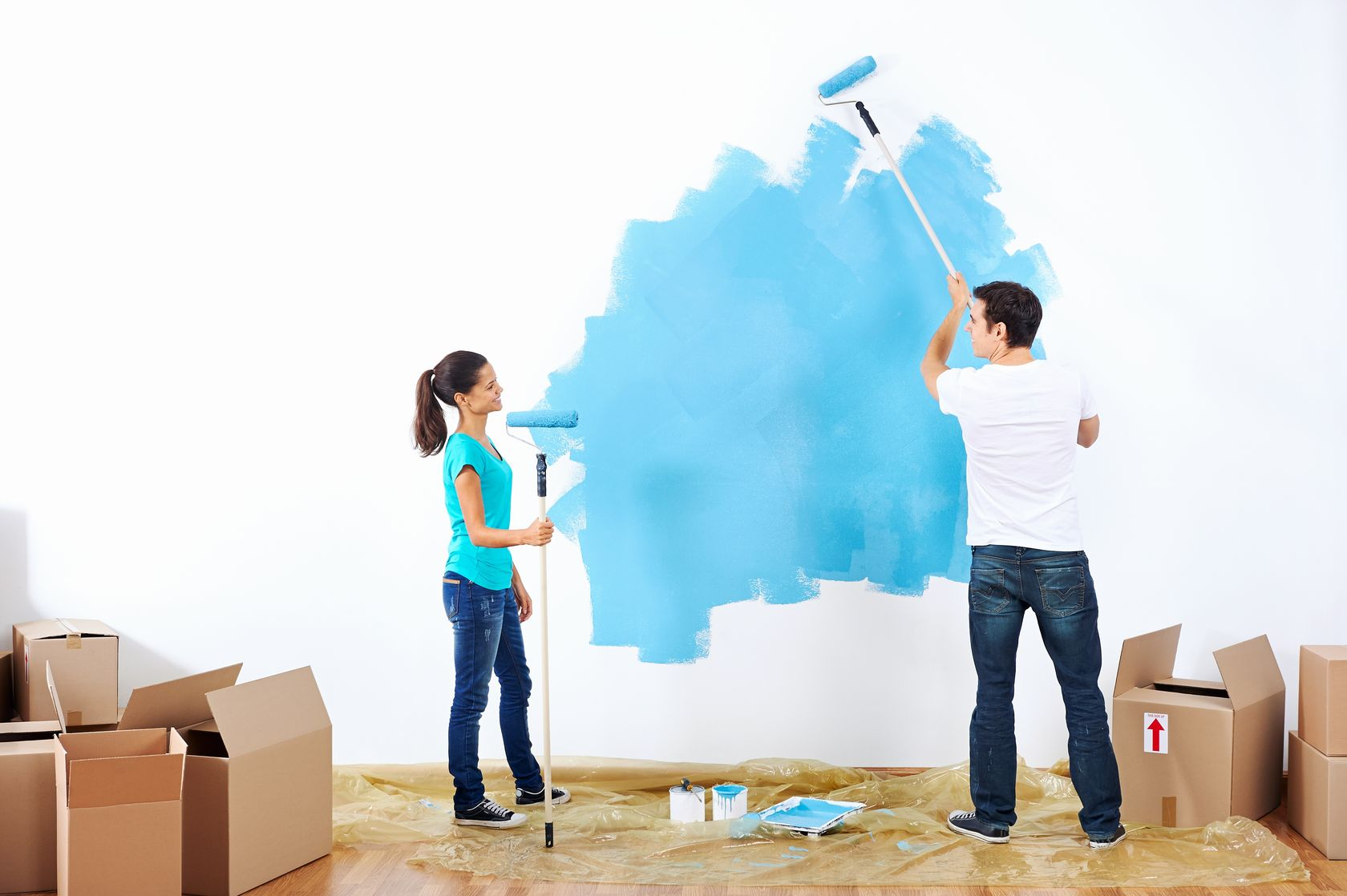 How to paint a room and do it right weekly sauce for Pintar casa exterior