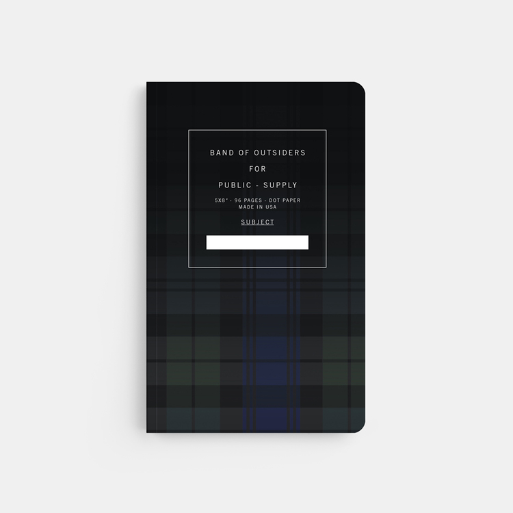 PublicSupply5X8-BAND_OF_OUTSIDERS_PLAID_DEGRADE-FRONT