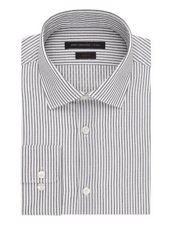 john varvatos striped dress shirt