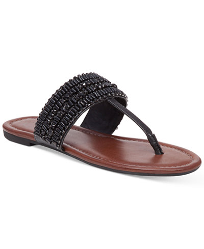 Available in Black, Buff, and Burnt Umber, these sandals are the perfect way to bring in the summer. The beading details and T-strap styling make these ideal for running around town with the grandkids in the afternoon or pairing with a pretty dress at night. Treat your mom to these super-cute sandals before they're impossible to find. Find them at Macy's. Price point: $$